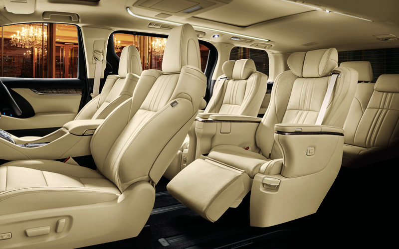 Semi-aniline Leather Seats